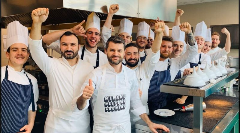 """Il settore della ristorazione reagisce al Coronavirus con l'iniziativa """" Milano keeps on Cooking"""""""