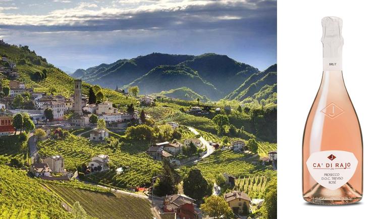 Cà di Rajo: debutta sul mercato il Prosecco Doc Treviso Rosé Brut